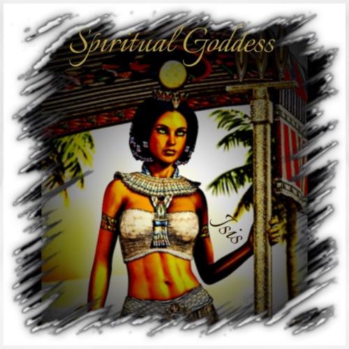 Spiritual Goddess Isis - Women's Premium T-Shirt