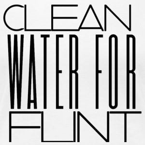 CLEAN WATER FOR FLINT - Women's Premium T-Shirt