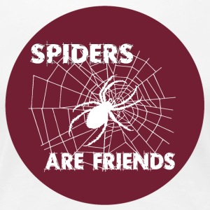 spiders are friends - Women's Premium T-Shirt