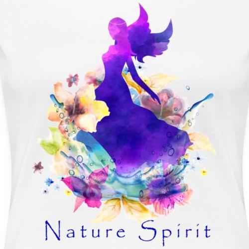 Nature Spirit - purple - Women's Premium T-Shirt