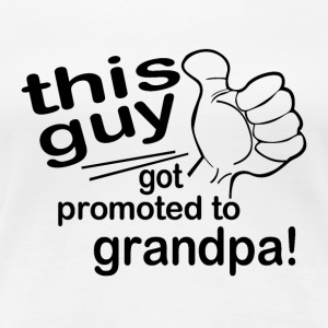 Promoted to Grandpa - Women's Premium T-Shirt