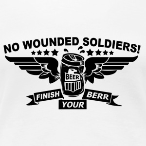 No Wounded - Women's Premium T-Shirt
