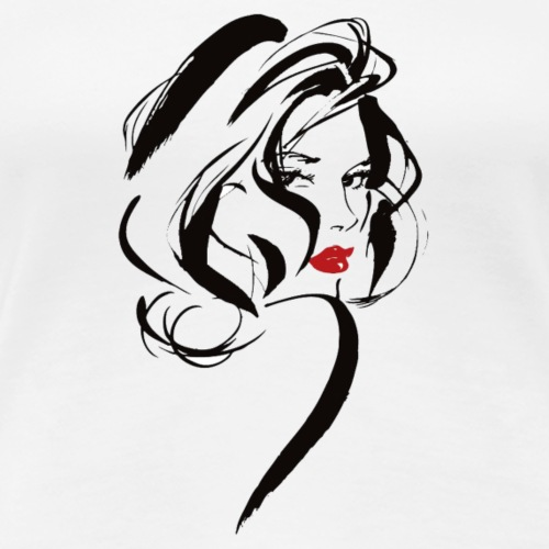 Sexy lady - Women's Premium T-Shirt