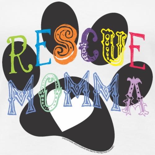 Rescue Momma - Women's Premium T-Shirt