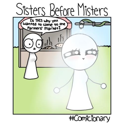 Sisters Before Misters - Women's Premium T-Shirt