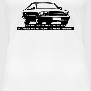 Mercedes Benz W126 Coupe - Women's Premium T-Shirt