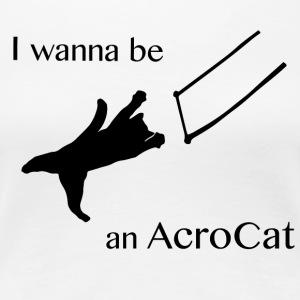 AcroCat - Women's Premium T-Shirt