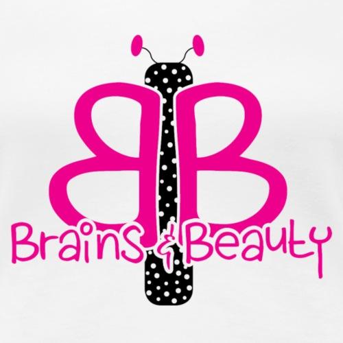 BB Logo (for light color shirts) - Women's Premium T-Shirt