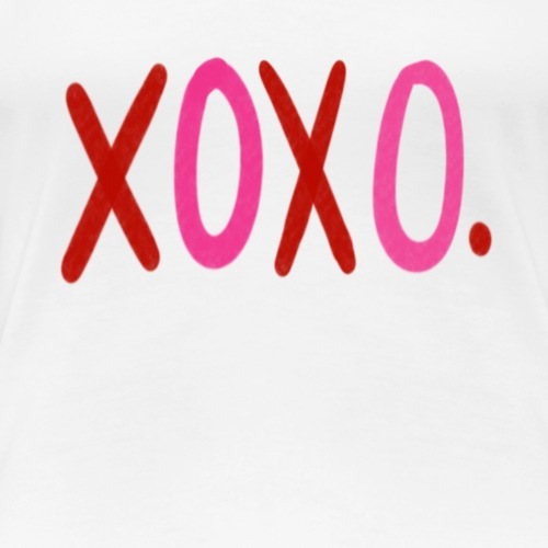 XOXO - Women's Premium T-Shirt