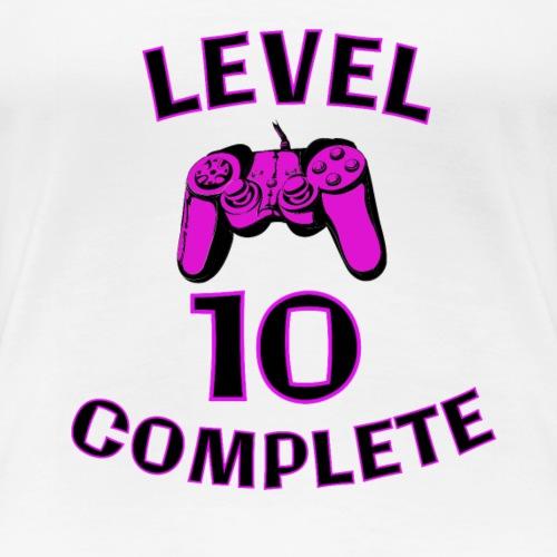 Gamer Girl 10th Birthday - Women's Premium T-Shirt