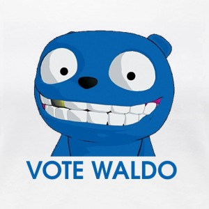 Vote Waldo - Women's Premium T-Shirt