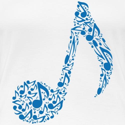 Music Note Vol 1 - Women's Premium T-Shirt
