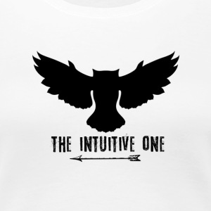 Owl: The Intuitive One (Black) - Women's Premium T-Shirt