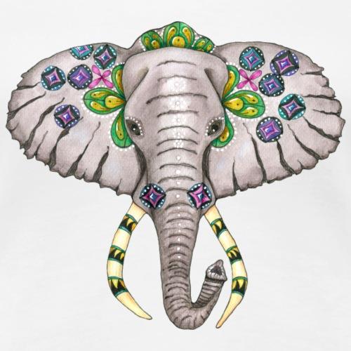 Lucky elephant - Women's Premium T-Shirt