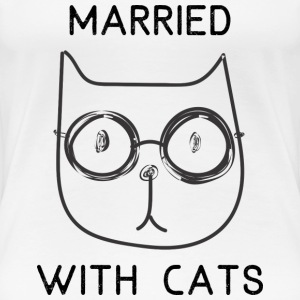 cat lovers - Women's Premium T-Shirt