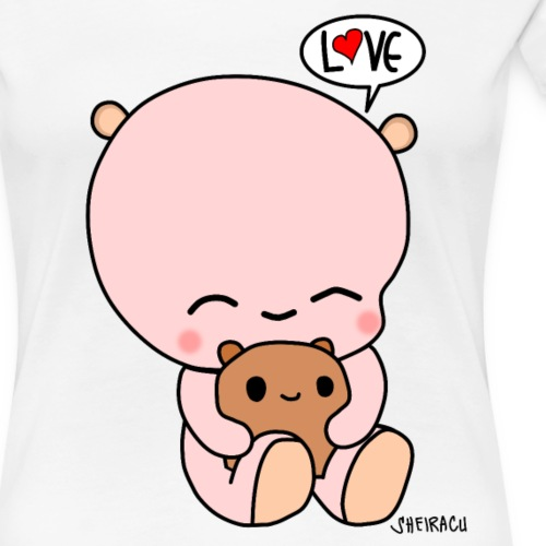 Sheiracu´s Teddy - Women's Premium T-Shirt