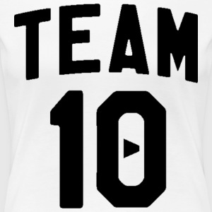 TEAM 10 TEN arc - black - Women's Premium T-Shirt