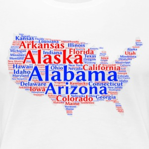 United States Design - Women's Premium T-Shirt