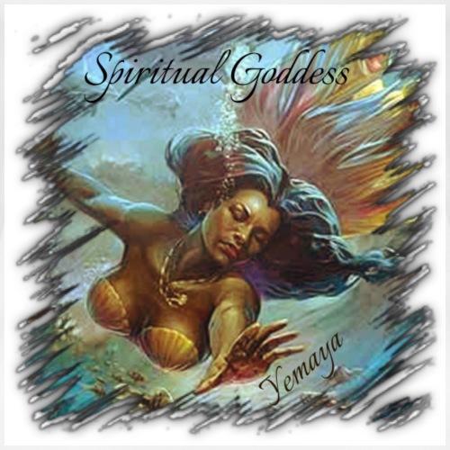 Spiritual Goddess Yemaya - Women's Premium T-Shirt