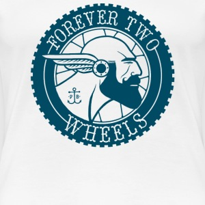 Forever Two Wheels FTW CO - Women's Premium T-Shirt