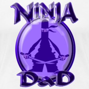 Ninja Dad - Women's Premium T-Shirt