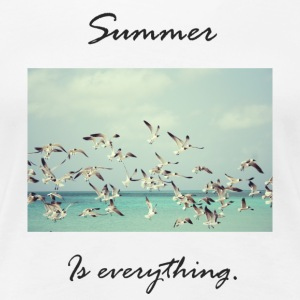 summer is everything - Women's Premium T-Shirt