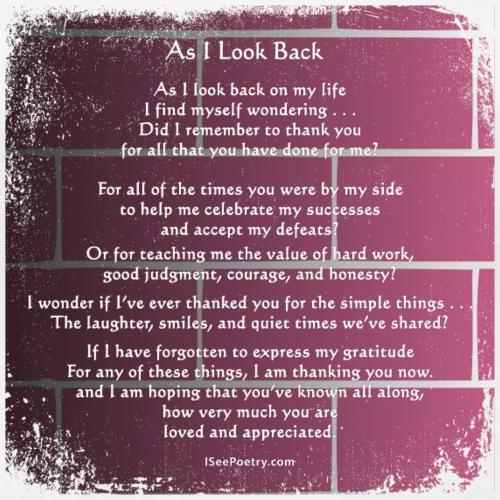 As I Look Back - Poetry Gifts - Distressed Wall - Women's Premium T-Shirt
