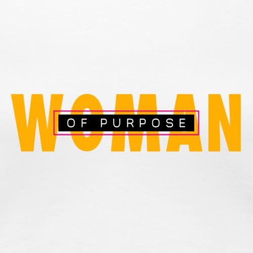 Woman of Purpose - Women's Premium T-Shirt