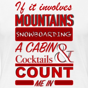 COUNT ME IN - Women's Premium T-Shirt