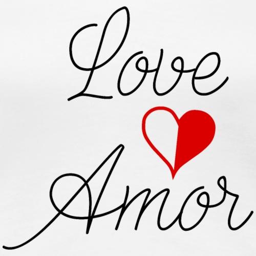 Love Amor - Women's Premium T-Shirt