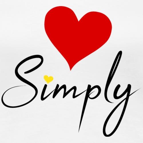 LoveSimply - Women's Premium T-Shirt