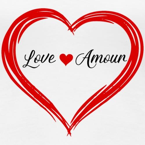 LoveandAmour - Women's Premium T-Shirt