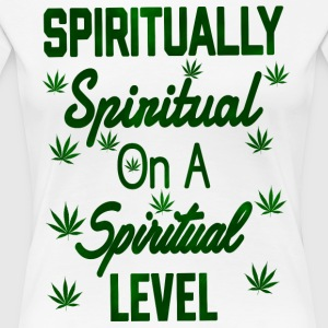 Spiritually Spiritual on a Spiritual Level - Women's Premium T-Shirt