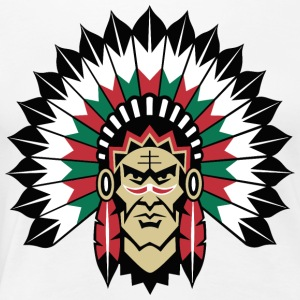 indians indian geronimo apache lakota - Women's Premium T-Shirt