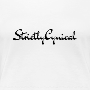 StrictlyCynical YOUTUBE! - Women's Premium T-Shirt