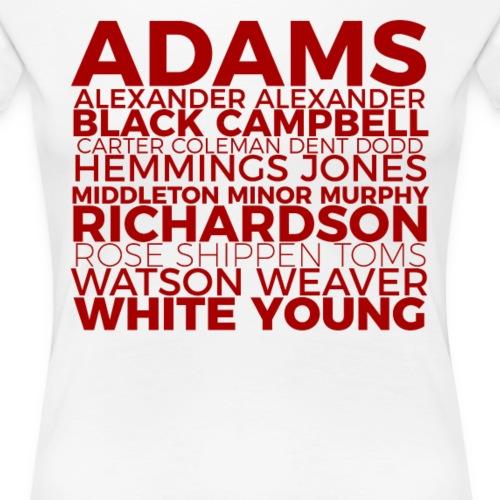 The 22 - Women's Premium T-Shirt