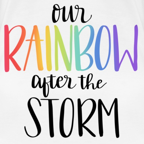 Rainbow after the Storm - Women's Premium T-Shirt