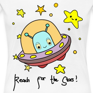 reachforthestars - Women's Premium T-Shirt