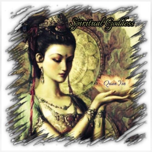 Spiritual Goddess Quan Yin - Women's Premium T-Shirt
