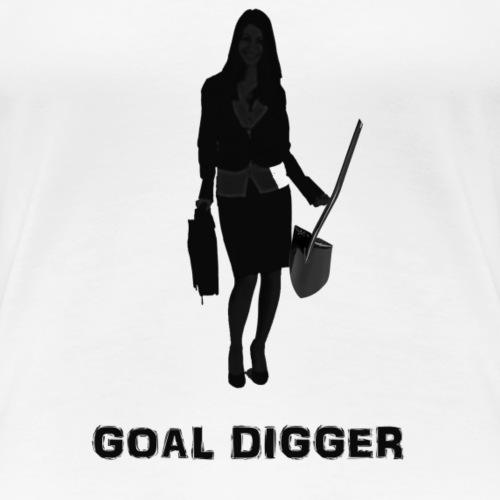 Goal Digger T Shirt - Women's Premium T-Shirt