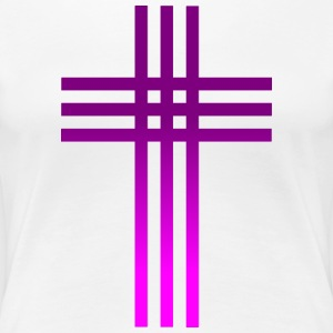 Catholic Cross - Women's Premium T-Shirt