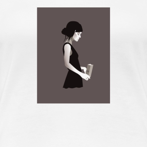 Painting Girl - Women's Premium T-Shirt