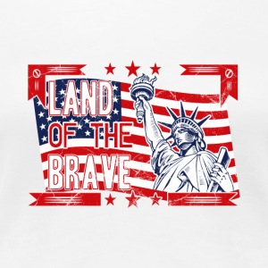Land Of The Brave Products - Women's Premium T-Shirt