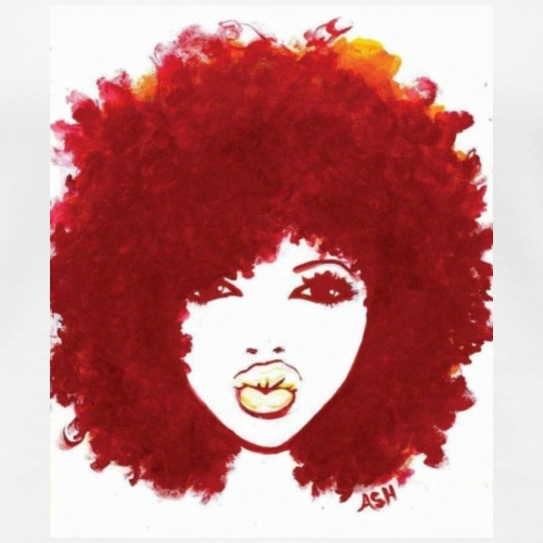 Red Fro - Women's Premium T-Shirt