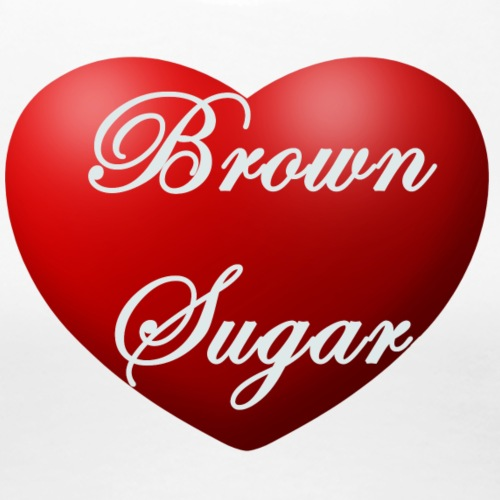 Brown sugar heart - Women's Premium T-Shirt