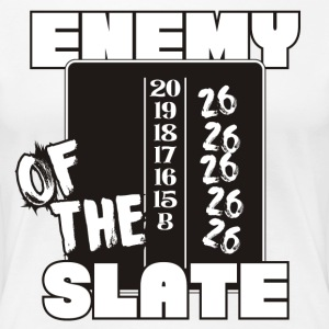 Enemy Of The Slate Darts Shirt - Women's Premium T-Shirt
