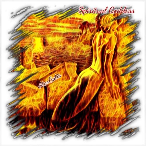 Spiritual Goddess AtarGatis - Women's Premium T-Shirt