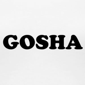 GOSHA ORIGINAL (BLACK) - Women's Premium T-Shirt