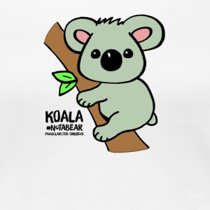 Koala Cute. Art by Paul Bass, assisted by Mollie. - Women's Premium T-Shirt