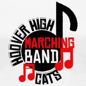 Hoover High Marching Band Cats - Women's Premium T-Shirt